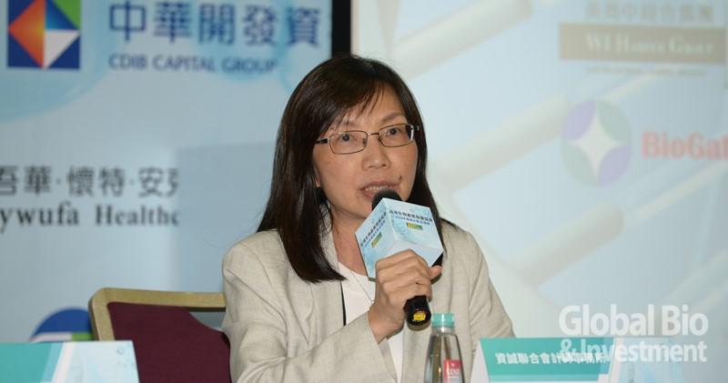 資誠會計師事務所榮譽副所長曾惠瑾。(攝影:林嘉慶)