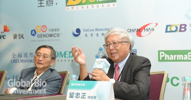 國光生技總經理留忠正(右)。(攝影:林嘉慶)