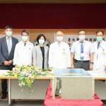 今(22)臺大醫院宣布啟用新一代AI超級電腦系統DGX A100,深耕智慧醫療。(圖/臺大醫院提供)