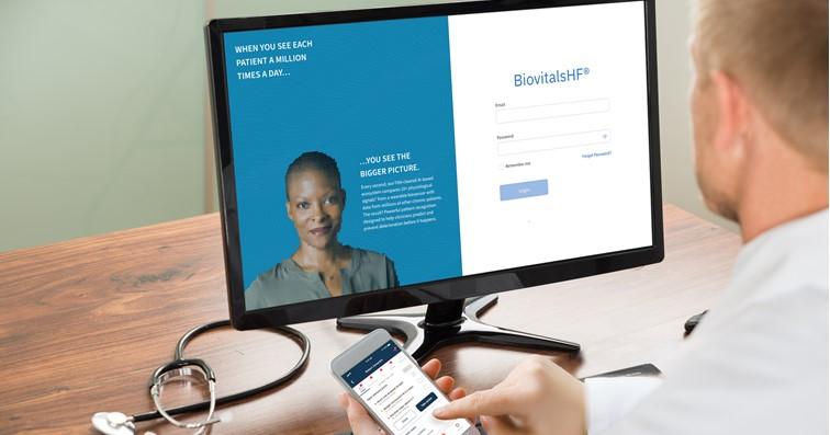 軟銀領投新加坡數位醫療新創Biofourmis完成1億美元C輪募資。(圖片取自忘了)