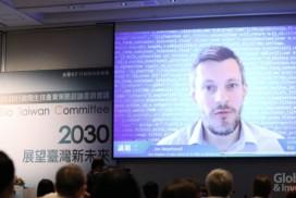 Jim Weatherall: AI應用於新藥研發 臺灣發展有利基  (攝影:林嘉慶)