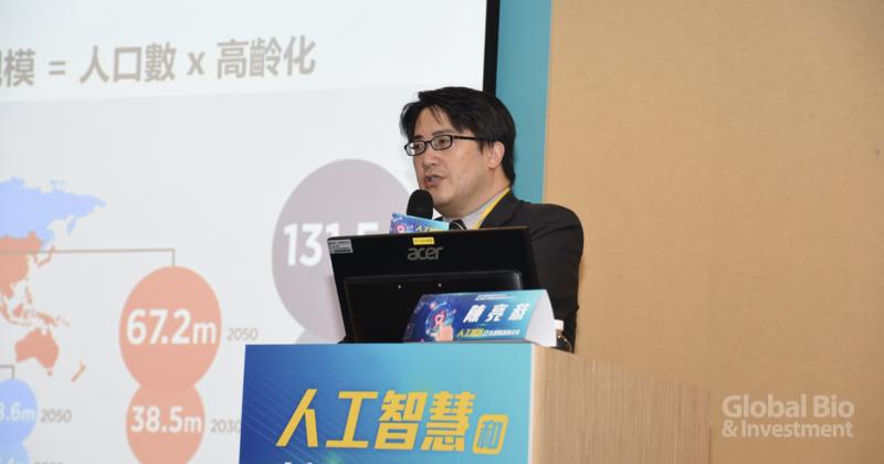 北榮高齡醫學中心主任兼陽明高齡與健康研究中心主任陳亮恭 (攝影/巫芝岳)