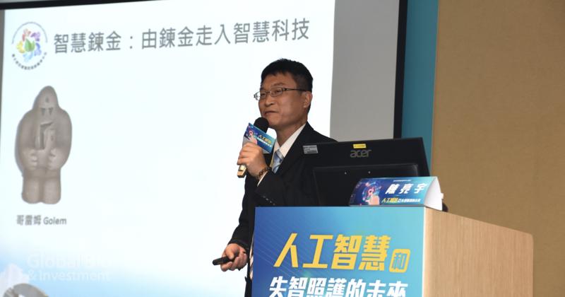北榮高齡醫學中心醫師陳亮宇 (攝影/巫芝岳)