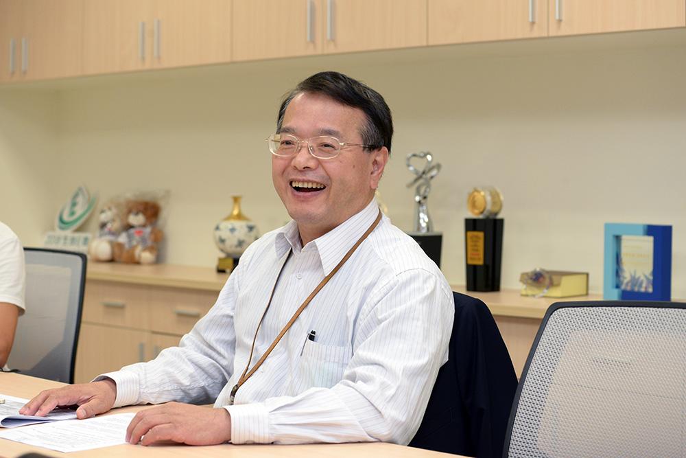 生技中心執行長吳忠勳表示,創新前瞻計畫主要的目標是鎖定首見(First-In-Class) 的新藥,希望藉由生技中心,讓學研界具創新性的好技術能夠得以產業化發展。( 攝影/ 林嘉慶)