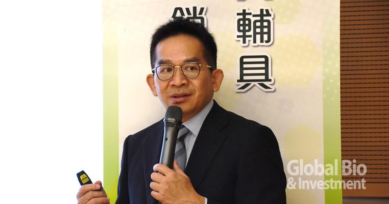 陽明大學生醫資訊研究所吳俊穎所長。(攝影/吳培安)