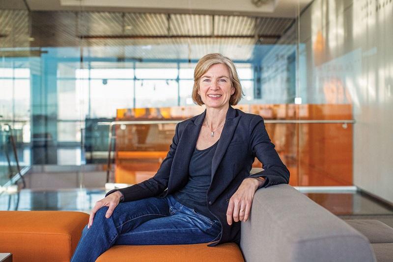 Jennifer Doudna新公司Scribe Therapeutics 攜手Biogen鎖定ALS基因療法。(圖片來源:網路)